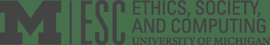 UM ESC Footer logo (greyscale)